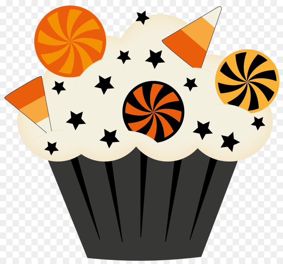 Food background cake . Clipart halloween baked goods