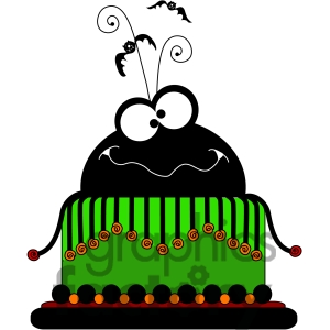 Birthday party . Baked goods clipart halloween