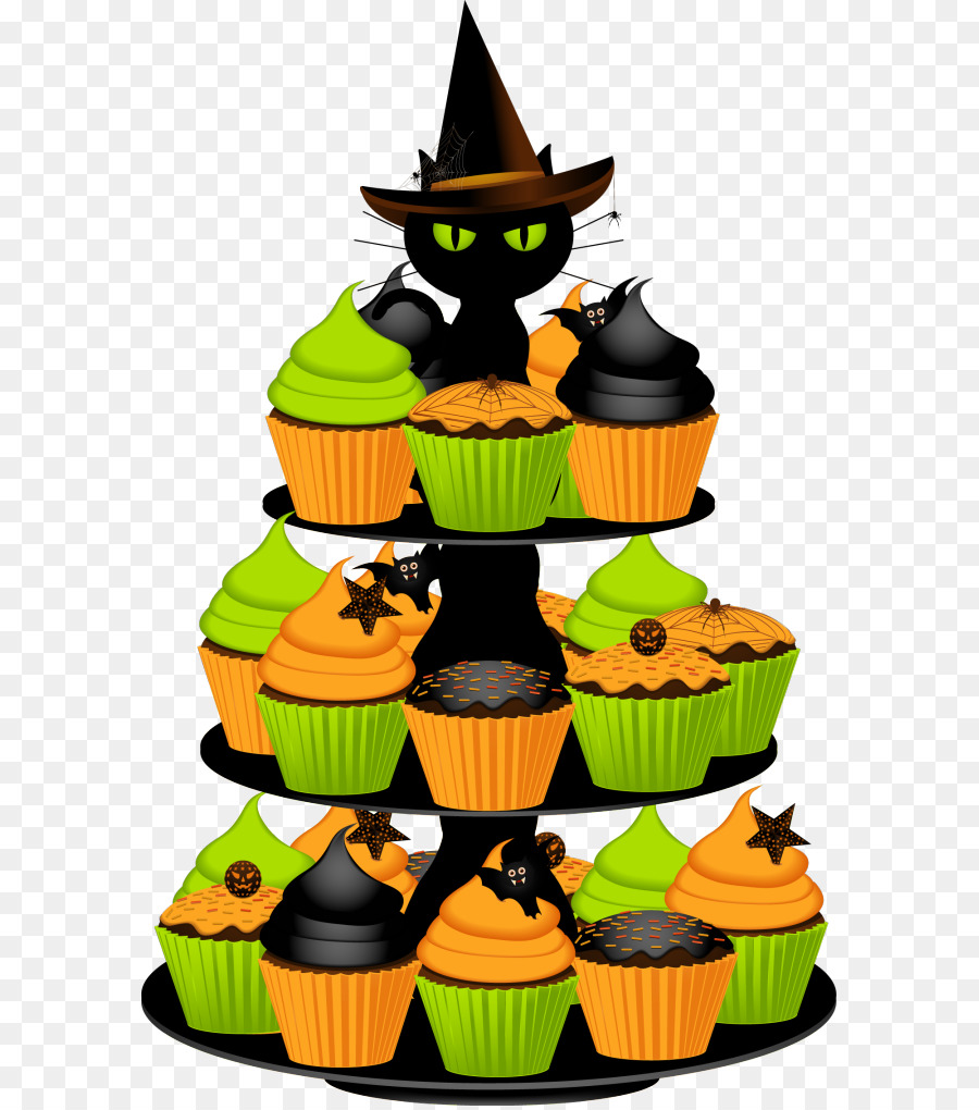 Party background birthday . Baked goods clipart halloween