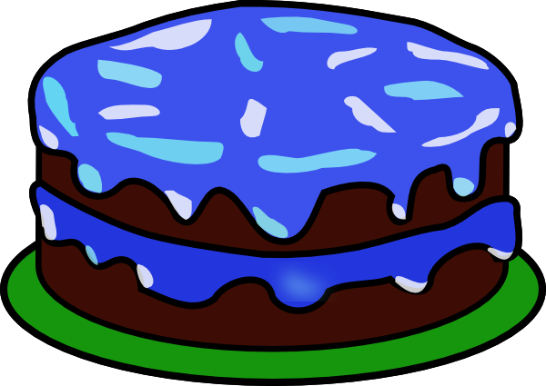 Baked goods clipart kid. Cake with no candles