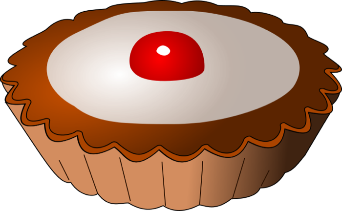 Baked goods clipart pie. Cake and animations tartelette