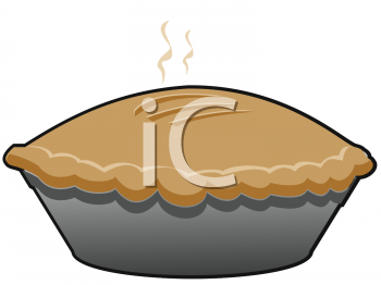 A whole freshly image. Baked goods clipart pie