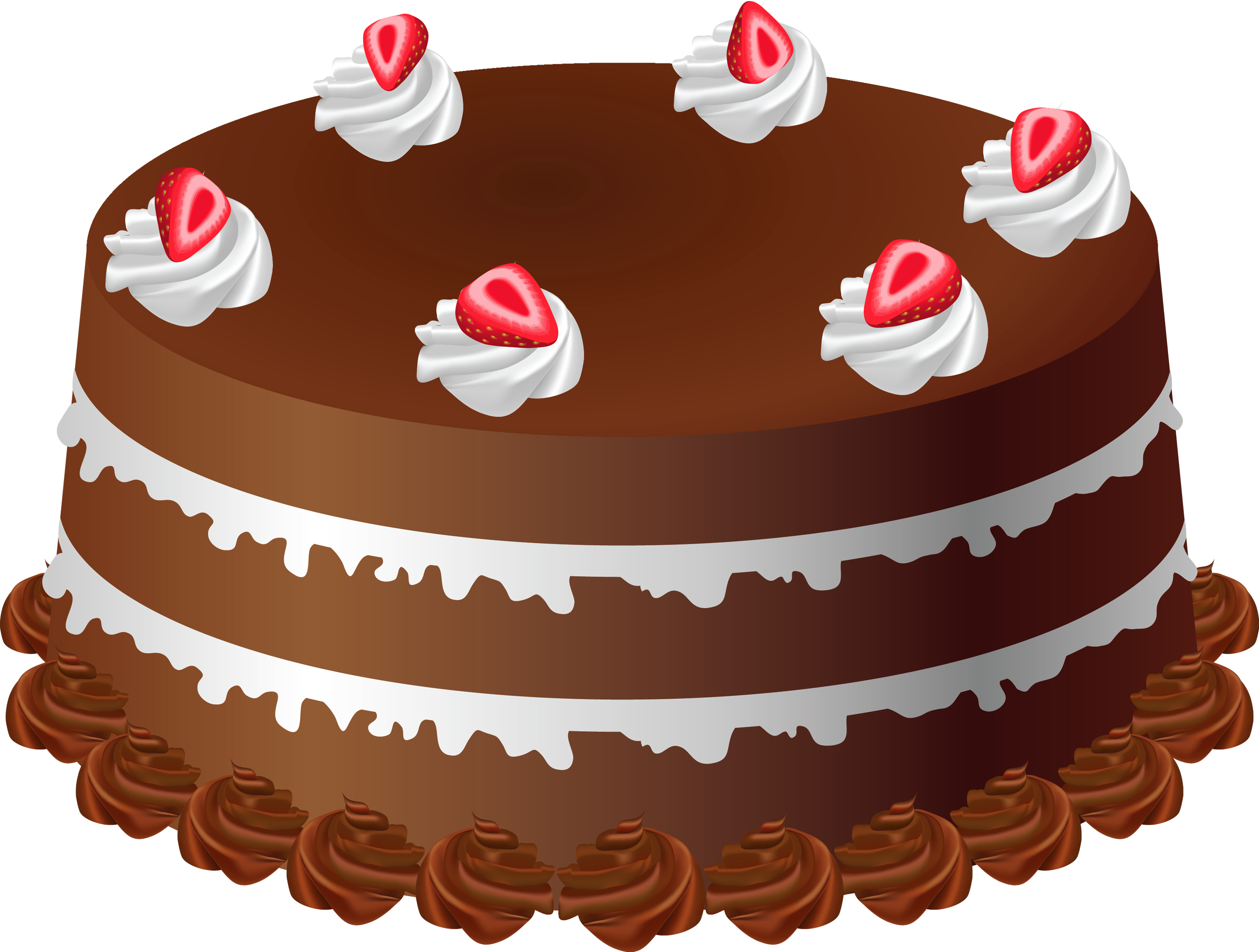 Clipart cake baked goods. Chocolate art png large