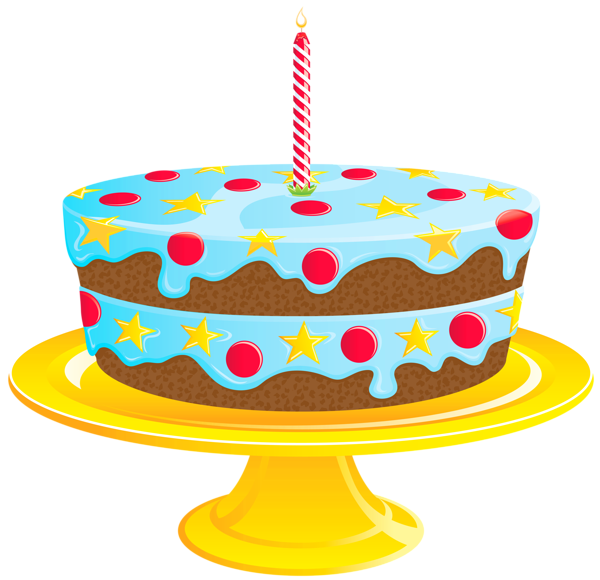 Clipart cake blue. Birthday png gallery yopriceville