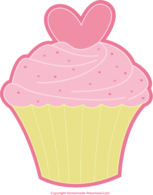 Valentine wallpapers bungkus kado. Clipart cupcake heart