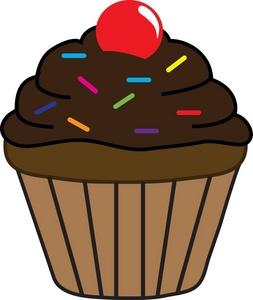 Cupcakes panda free images. Clipart cupcake vanilla cupcake