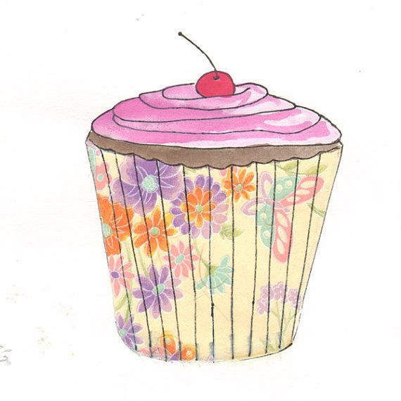 Baked goods clipart vanilla cupcake.  best cupcakes images