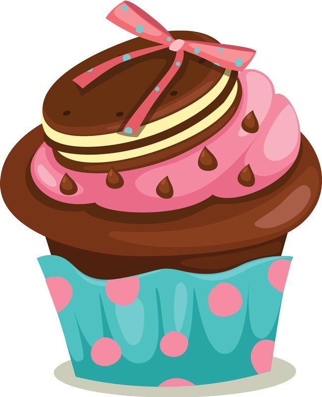 Cute cliparts cupcakes clip. Baked goods clipart vanilla cupcake