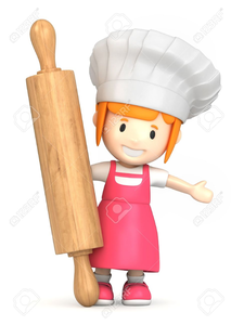 Baker clipart. Free female images at