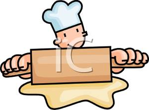Baking cookies clip art. Baker clipart animated