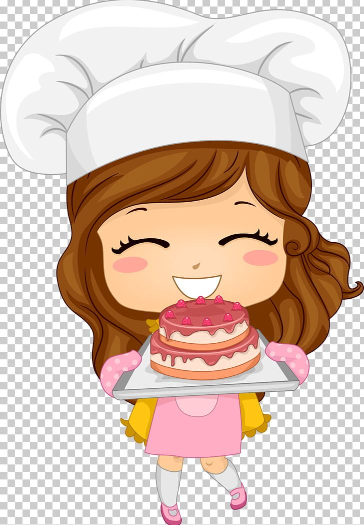Cartoon chef png art. Baker clipart animated