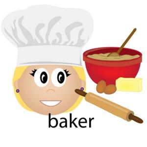 Panda free images bakerclipart. Baker clipart backer
