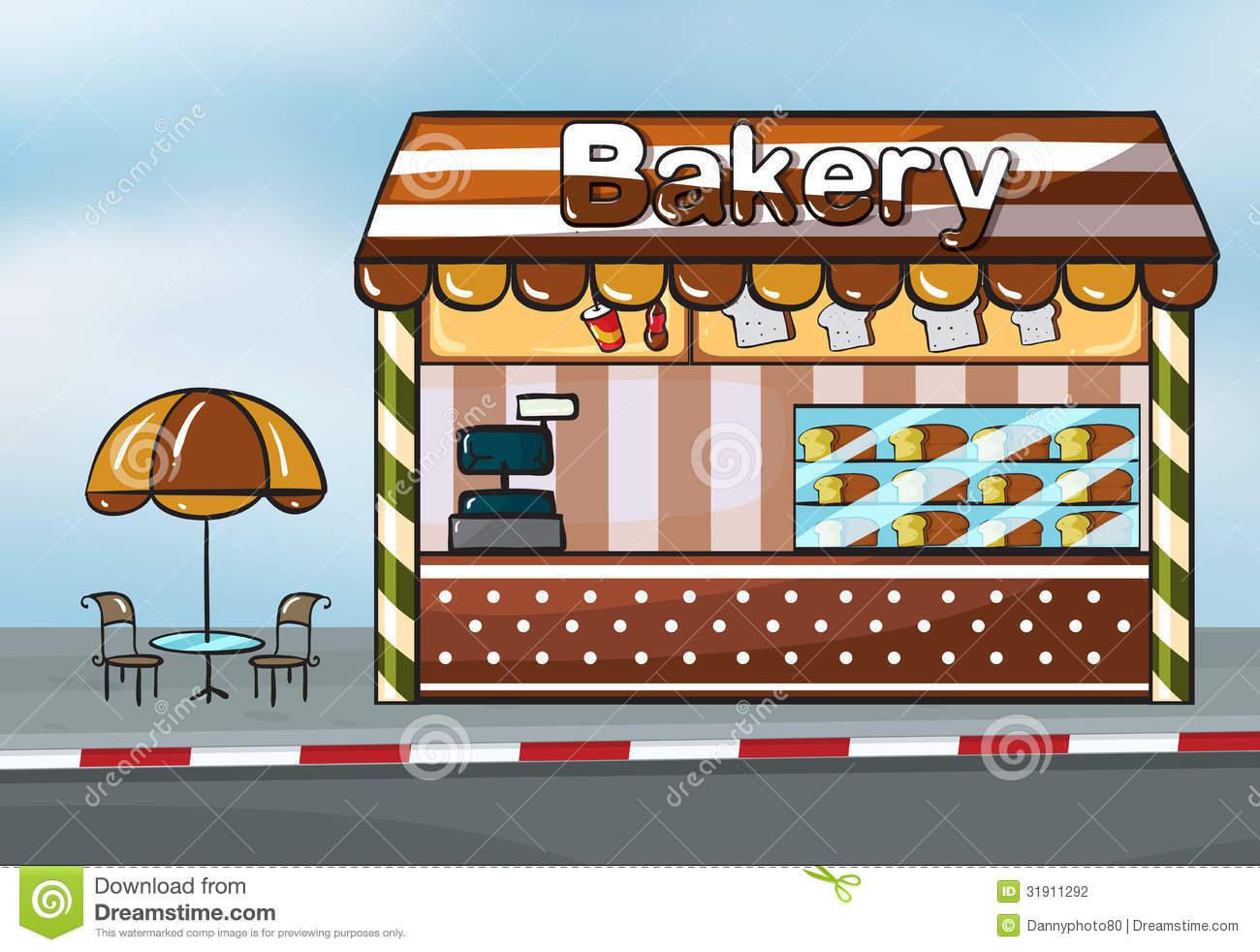 Bakery clipart bakery shop.