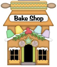 Bake shop bakery. Baker clipart baking bread
