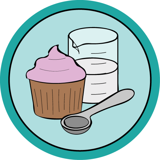 Free online science of. Muffins clipart baking class