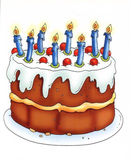 Baker clipart bakker. Image of birthday cake