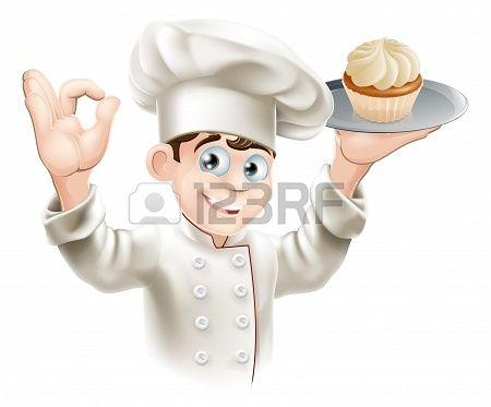 Illustratie van met een. Baker clipart bakker
