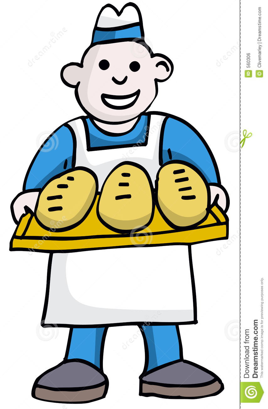 With panda free images. Baker clipart bread baker