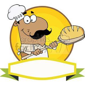 Baker clipart bread baker. Banner of a hispanic