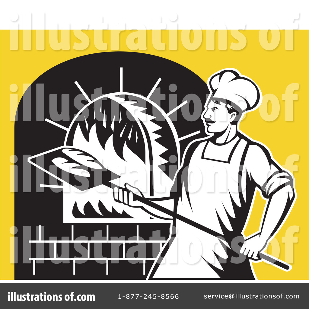 Baker clipart bread maker. Illustration by patrimonio royaltyfree