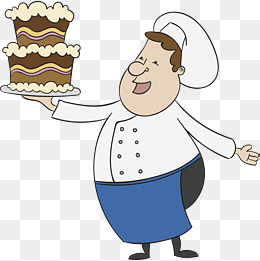 Png vectors psd and. Baker clipart cake