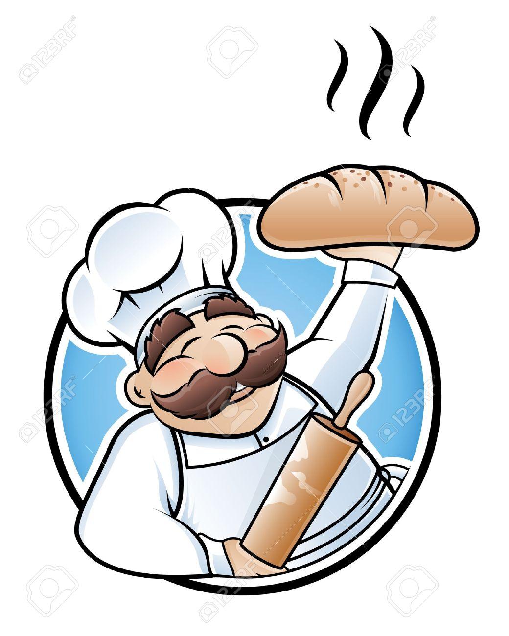 Cartoon . Bakery clipart baker