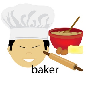 Free image acclaim asian. Baker clipart cartoon