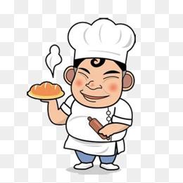 Baker clipart cartoon. Png vectors psd and