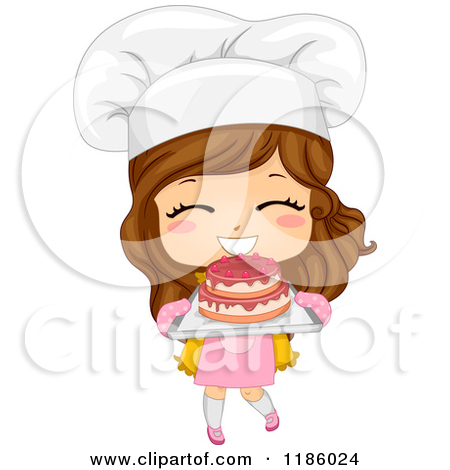 Baker clipart child. Boy and girl bakers