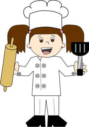 Baker clipart child.  best and chef