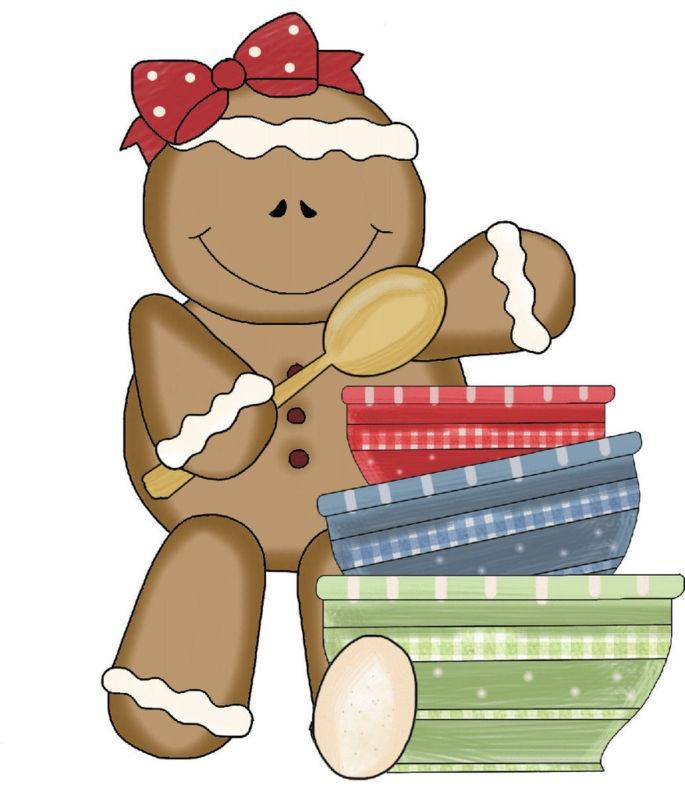 Baker clipart christmas.  best ginger breat