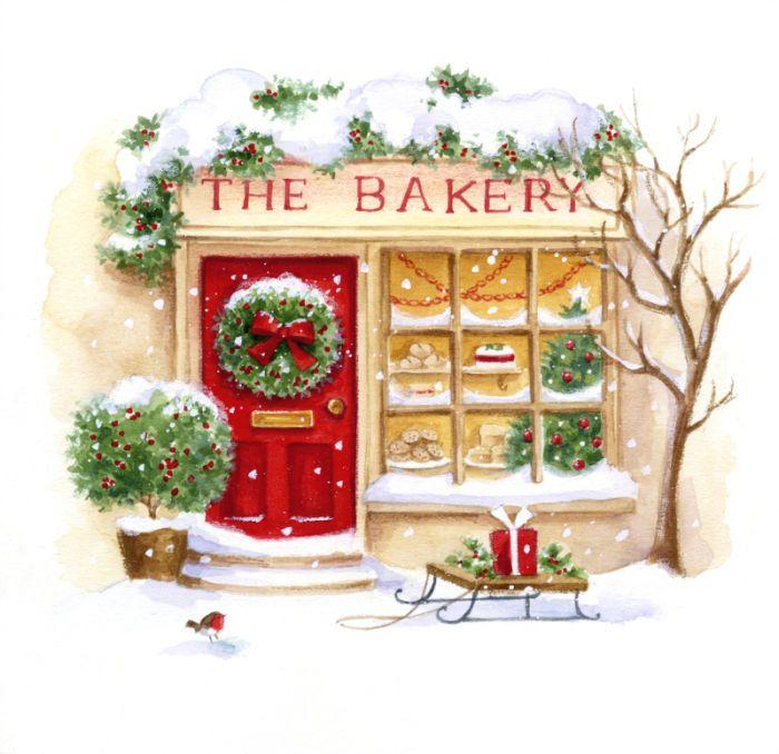 best transfer images. Baker clipart christmas