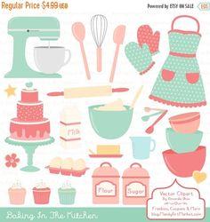 Baker clipart christmas. Digital scrapbook clip art