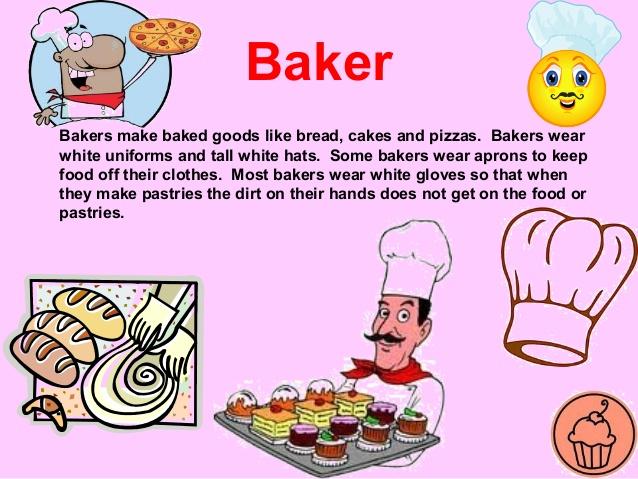 Helpers . Baker clipart community helper