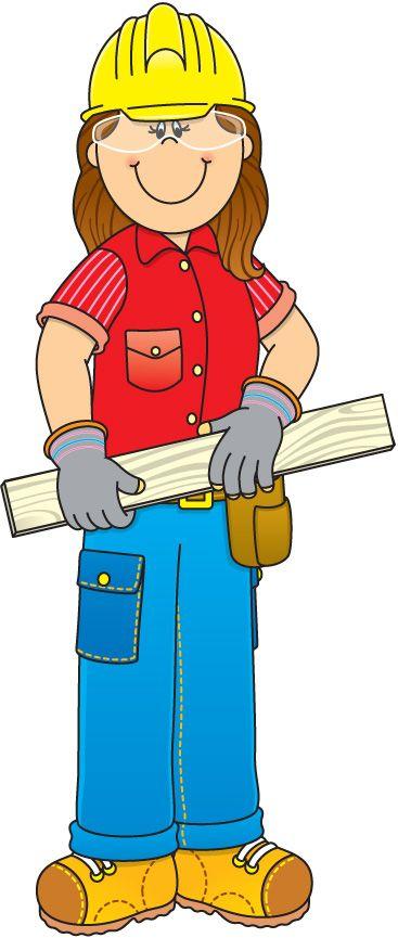 Helpers construction worker panda. Baker clipart community helper