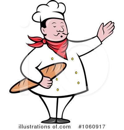 Illustration by patrimonio royaltyfree. Baker clipart cook