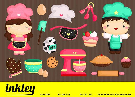 Baking clip art png. Baker clipart cookie
