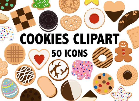 Baker clipart cookie. Cookies bakery food
