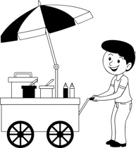 Baker clipart face. Free black and white