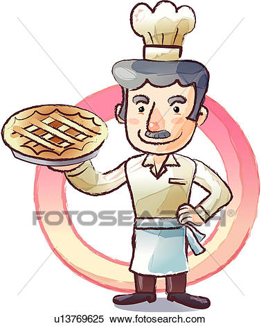 Baker clipart face. Pie many interesting cliparts