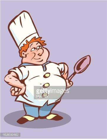 Funny premium clipartlogo com. Baker clipart fat