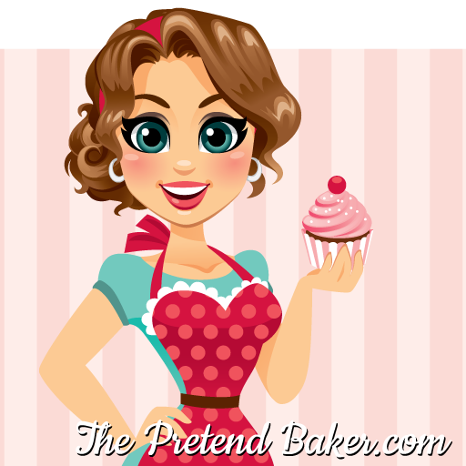 Cakes the pretend real. Baker clipart female cake