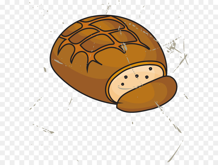 Pineapple bun breakfast bread. Baker clipart food counter