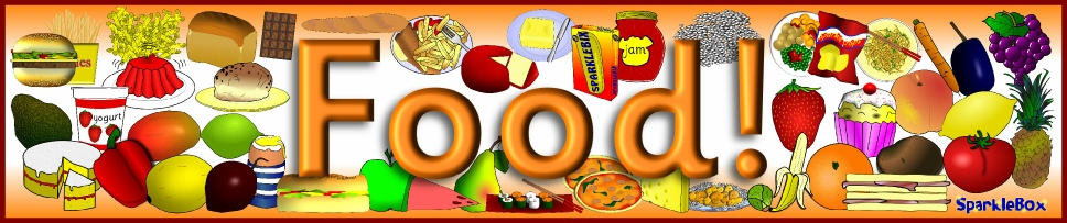 Teaching resources and printables. Baker clipart food display