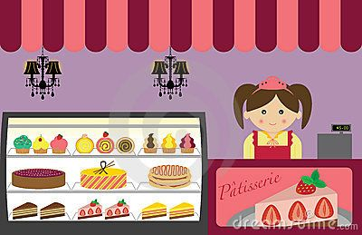Bakery clipart bakery shop. French patisserie clip art