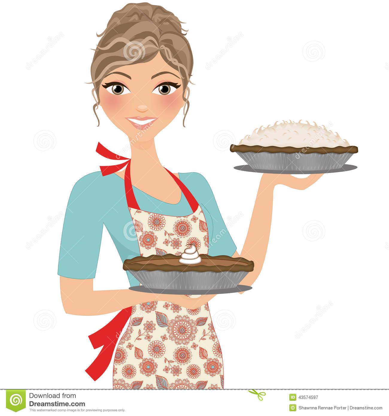 Free . Baker clipart girl baker