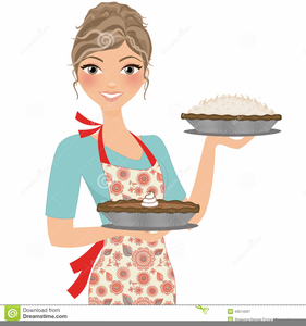 Baker clipart lady baker. Free female images at