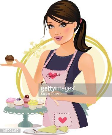 Portal . Baker clipart lady baker