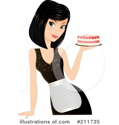 Baker clipart lady baker. Embed codes for your