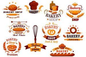 Bakery portal . Baker clipart logo